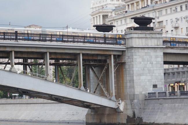 Смоленский метромост. Фото: Дмитрий Кремер