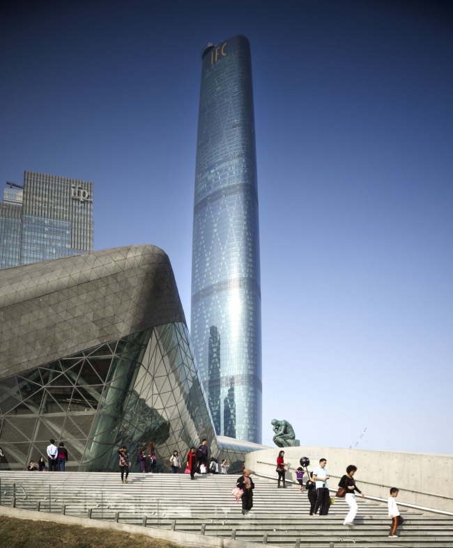 Международный финансовый центр Гуанчжоу © Christian Richters
