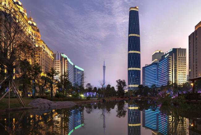 Международный финансовый центр Гуанчжоу © Jonathan Leijonhufvud