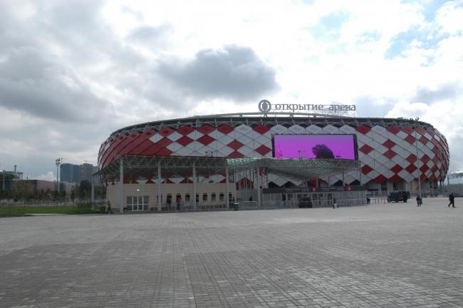 Стадион «Открытие Арена». Фотография предоставлена компанией КНАУФ