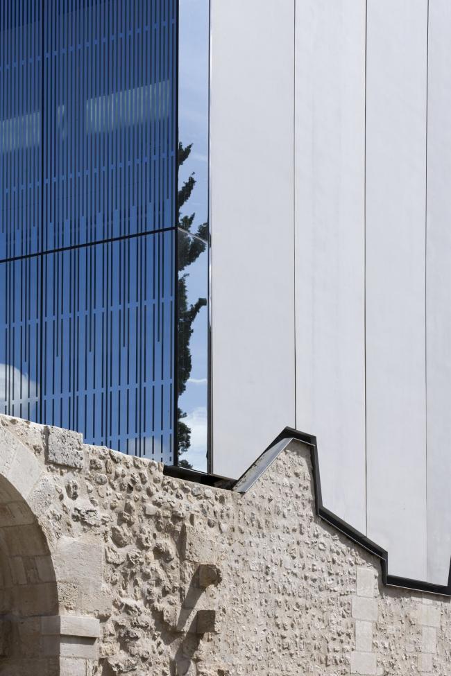 Музыкальная школа в бывшем монастыре Нотр-Дам-де-Консоласьон © Luc Boegly