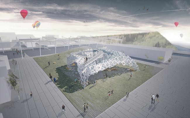 Павильон Украины на Экспо-2015 – концептуальное предложение © Dmytro Aranchii Architects