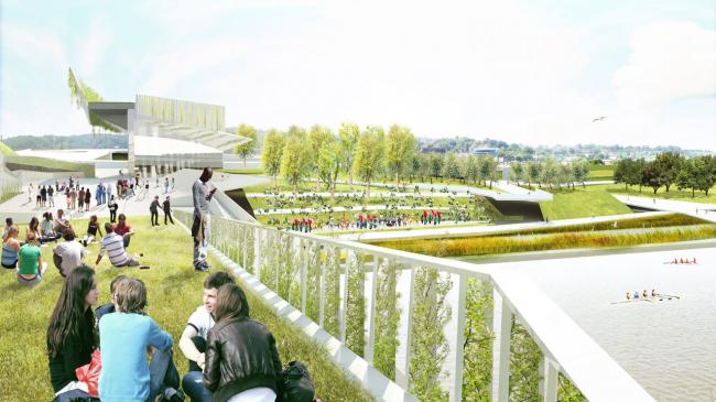 Проект Stoss Landscape Urbanism и Höweler + Yoon Architecture