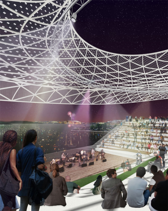 Проект Wallace Roberts & Todd (WRT), NEXT Architects и Magnusson Klemencic Associates