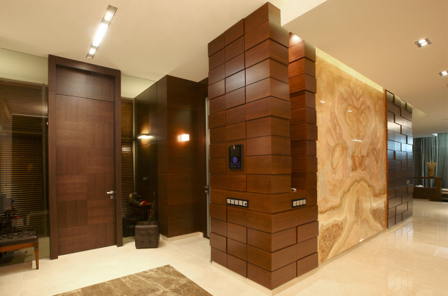 Country house in Moscow area. Bathroom design © Fourth dimension