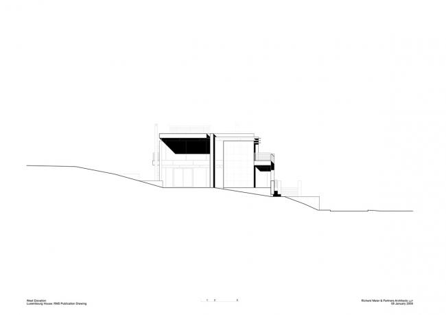 Дом в Люксембурге © Richard Meier & Partners