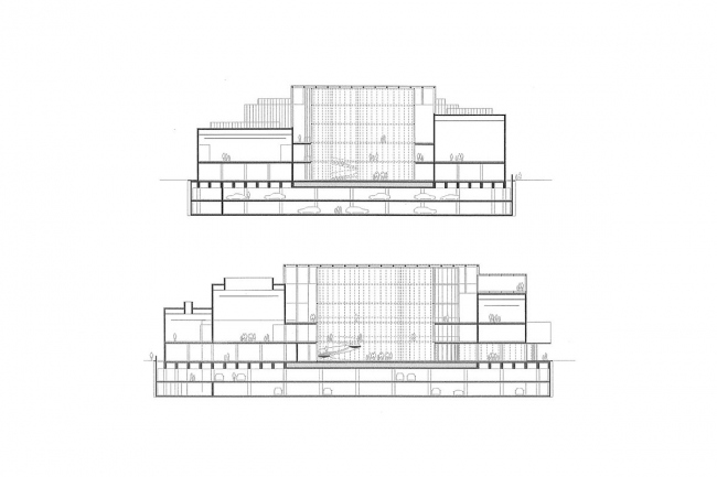 «Город культуры» © David Chipperfield Architects