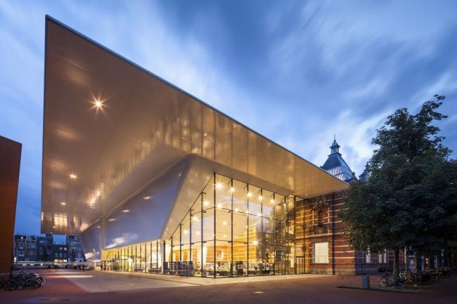 Музей Стеделейк - новое крыло © Jannes Linders