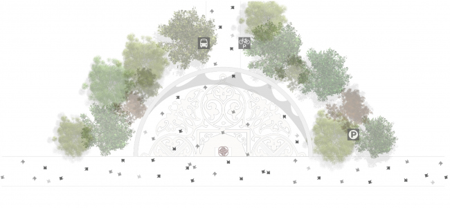 "Third place. ""Sokolniki Park: Legacy Evolution"". Authors: Lola Landscape architects (Netherlands), Architectural group ЗОН (Russia), Taller 301 (Columbia), Land + Civilization Compositions (Netherlands), Symboisis Grontmij Belgium NV (Belgium), Studio Tra"
