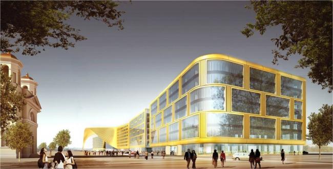Конгрессно-выставочный комплекс «Экспофорум» в Санкт-Петербурге, SPEECH. Изображение: speech.su
