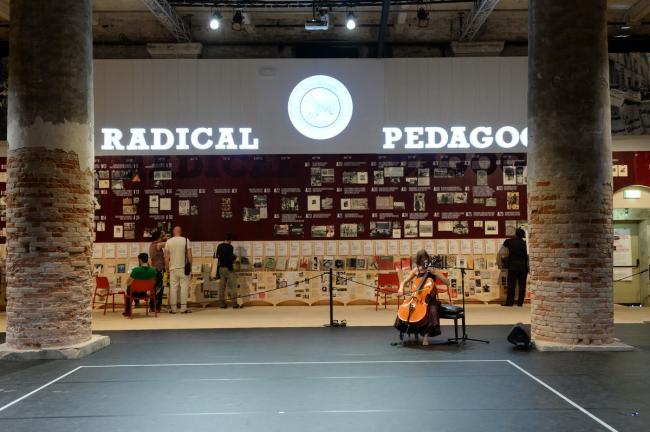 Выставка Беатрис Коломины «Радикальная педагогика» на Венецианской биеннале-2014. Фото © Giorgio Zucchiatti. Предоставлено Biennale di Venezia