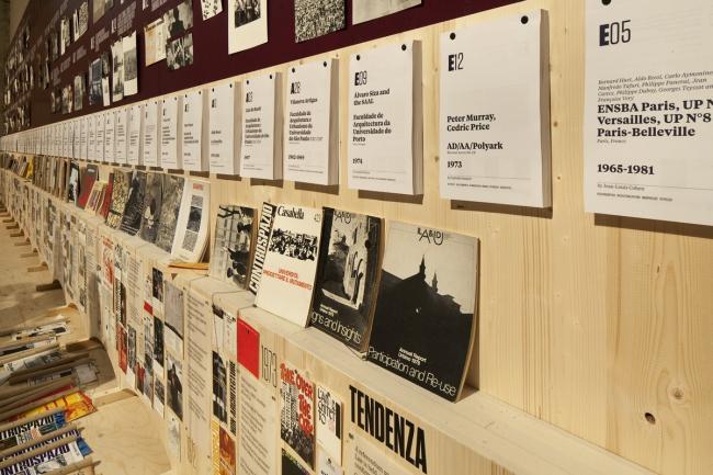 Выставка Беатрис Коломины «Радикальная педагогика» на Венецианской биеннале-2014. Фото © Francesco Galli. Предоставлено Biennale di Venezia