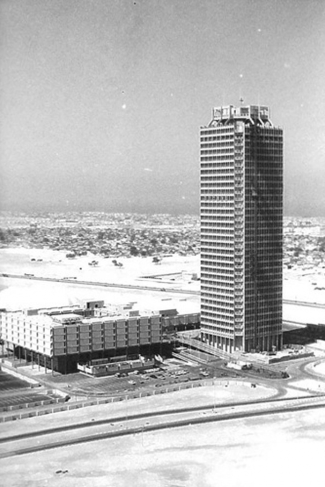 Центр Международной торговли в Дубае, 1979. Фото предоставлено John R Harris and Partners