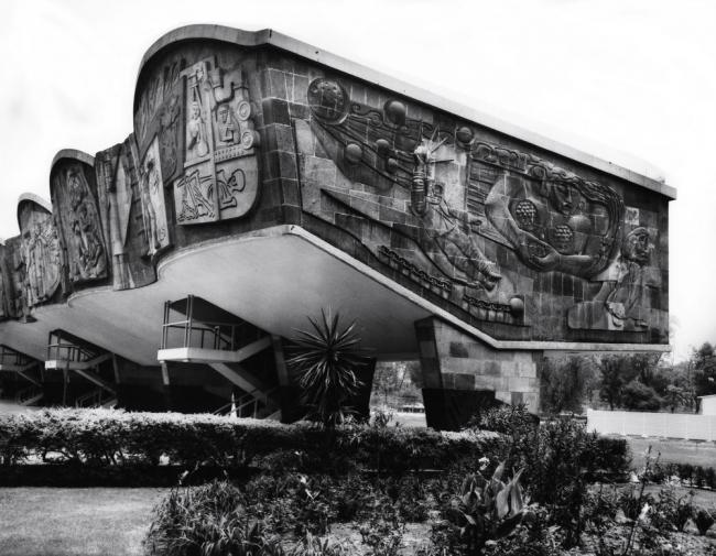 Энрике Яньес-де-ла-Фуэнте. Национальный медицинский центр в Мехико. Фото: Archivo de Arquitectos Mexicanos, Facultad de Arquitectura, UNAM