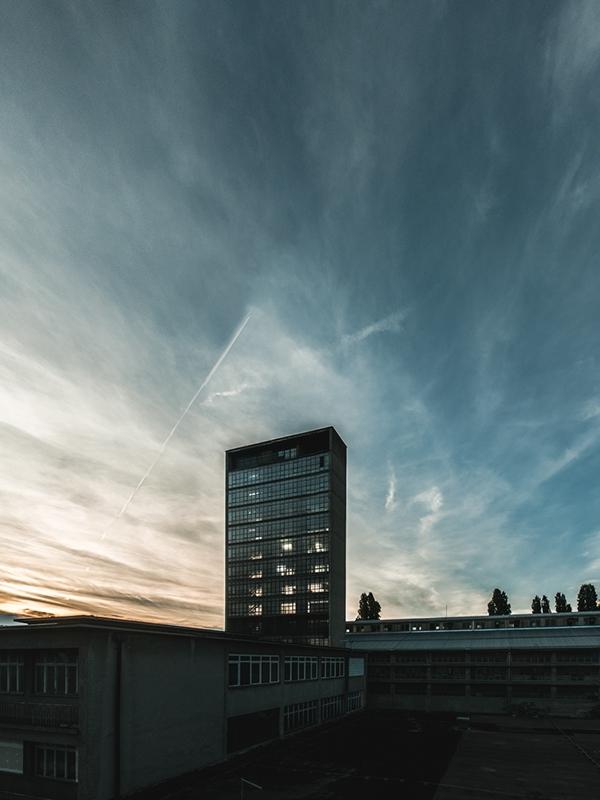 Испытательный центр электролампового завода TEŽ в Загребе. 1963. Архитектор Лавослав Хорват. Фото: Marko Mihaljević