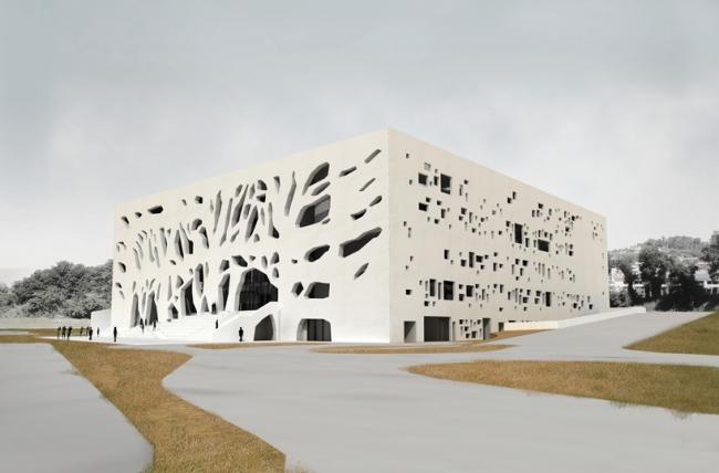 Культурный центр ANIMA © Bernard Tschumi Archiects