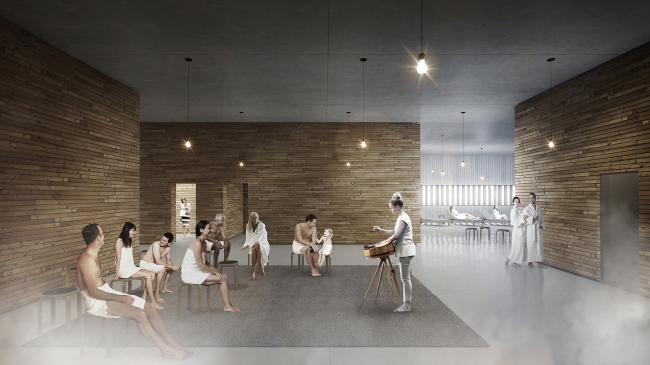 Центральная библиотека Хельсинки © ALA Architects
