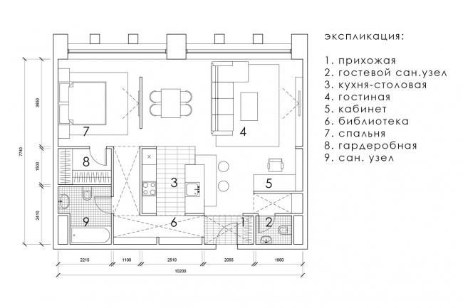 Пятое место, Диплом 3 степени. Евгения Мирошкина.  Дипломный проект «Многофункциональный комплекс на Серебрянической набережной. Москва»