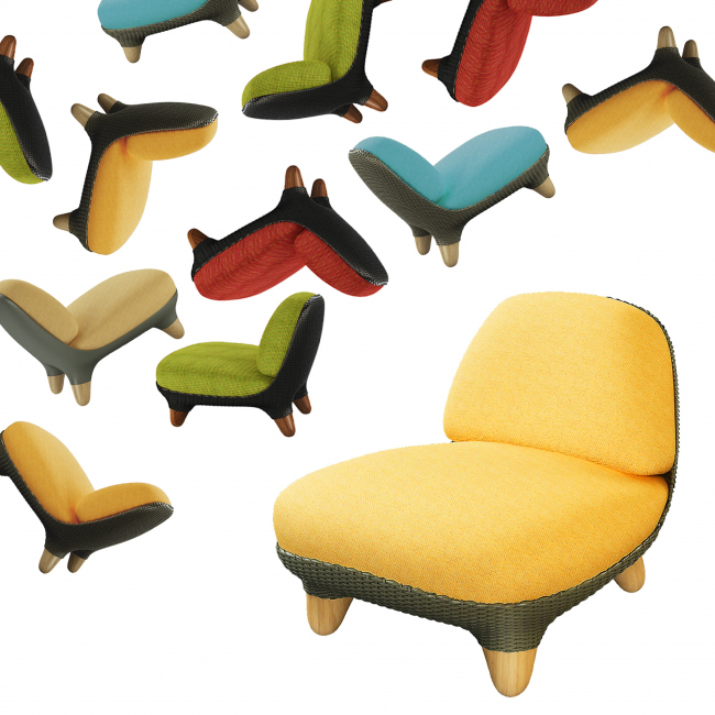 Кресла In-Out, 2012 г. Автор: Арсений Леонович © Архитектурное бюро PANACOM