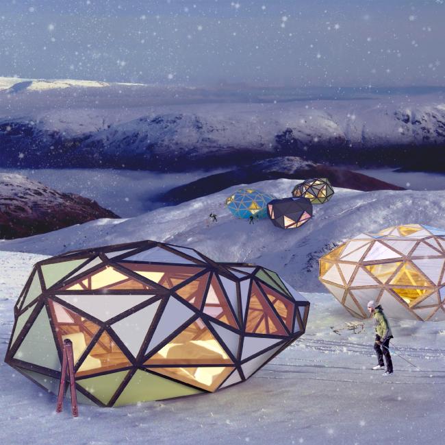 Микродом Сapsula, 2012 г. Автор: Арсений Леонович © Архитектурное бюро PANACOM
