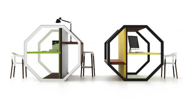 Столы для коворкинга COMBO 75, 2014 г. Автор: Арсений Леонович © Архитектурное бюро PANACOM