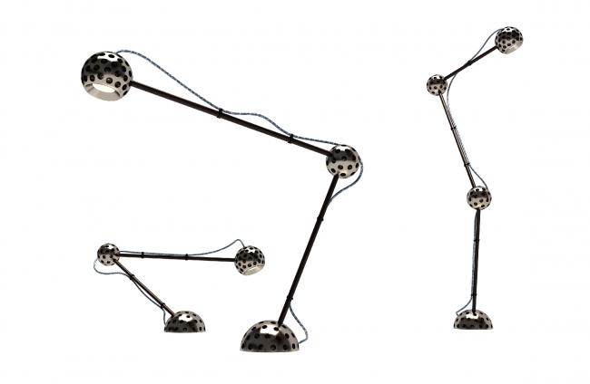 Настольный светильник  Dr. Carter, 2014 г. Автор: Арсений Леонович © Архитектурное бюро PANACOM