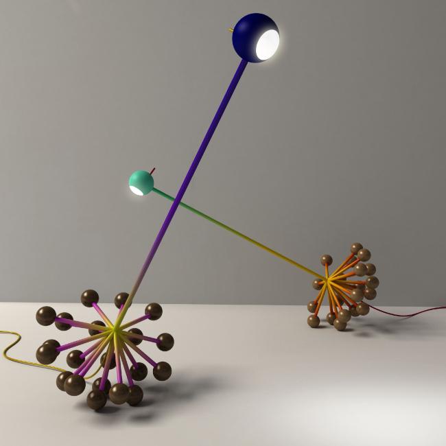 Настольный светильник  Rando, 2013 г. Автор: Арсений Леонович © Архитектурное бюро PANACOM