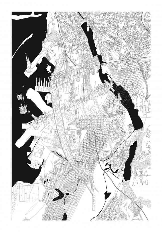 Модель города будущего © Егор Орлов