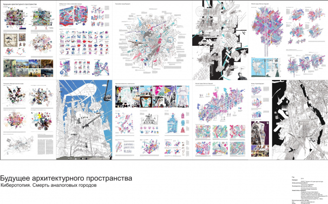 Егор Орлов. «Будущее архитектурного пространства. Киберотопия. Смерть аналоговых городов». Дипломная работа выпускника Казанского государственного архитектурно-строительного университета