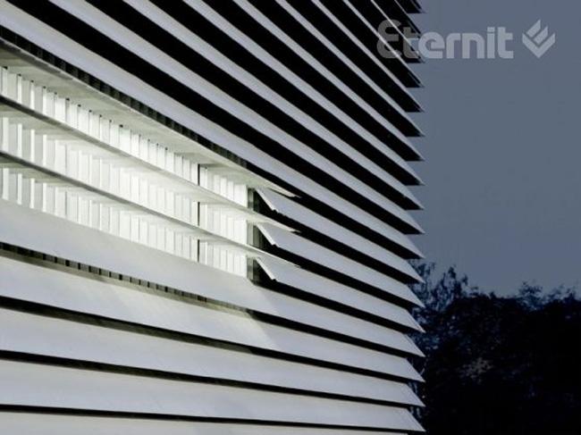 Информационный центр Университета города Лёвен. Фотография с сайта eternit.ru