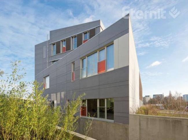 Офисное здание Infrax Dilbeek. Фотография с сайта eternit.ru