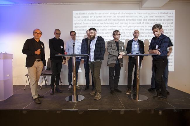 Дискуссия по итогам первого дня симпозиума. Фото © NAF / Øystein Nermo