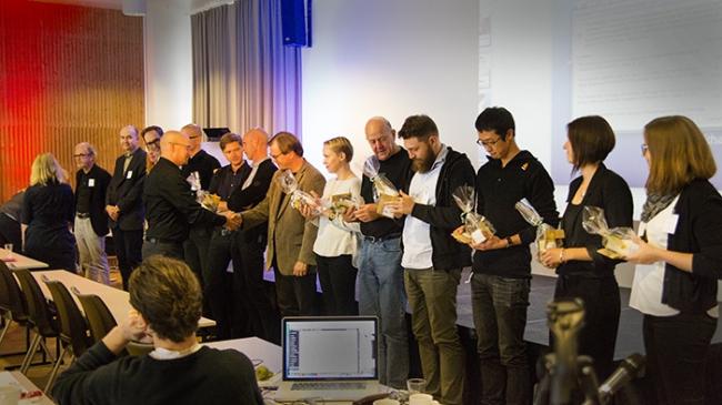 Докладчики первого дня симпозиума. Фото © NAF / Øystein Nermo