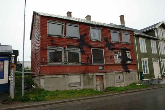 Граффити в Вардё. Фото: Нина Фролова