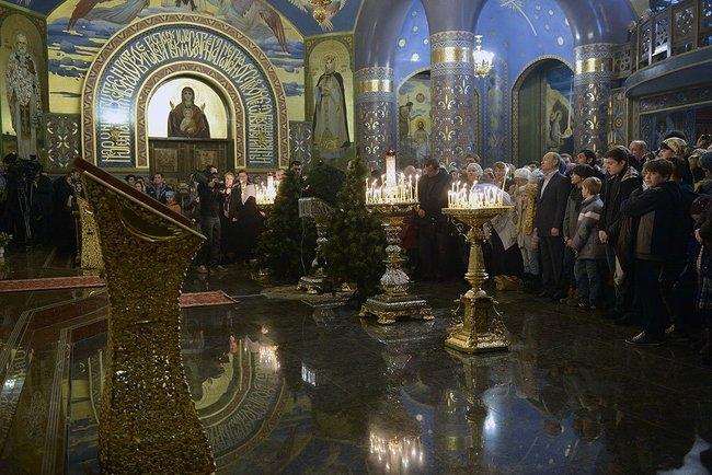 Храм Нерукотворного Образа Христа Спасителя. Фотография пресс-службы президента России