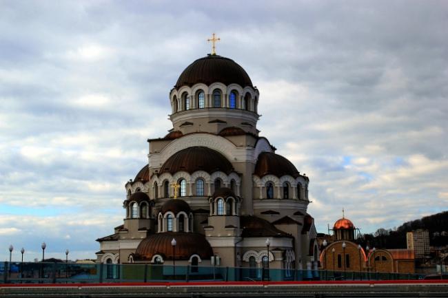 Храм Нерукотворного Образа Христа Спасителя. Фотография с сайта sports.ru