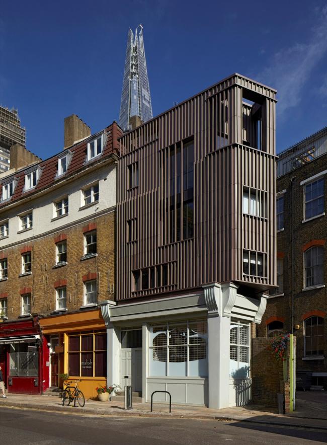 «Приз за выдающиеся успехи в деревянном домостроении» / Студия Алекса Монро в Лондоне (Великобритания), бюро DSDHA. Изображение предоставлено WAF