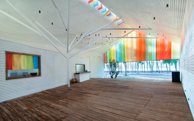 «Здание года» / «Гражданские проекты и общество» / Часовня близ Хошимина во Вьетнаме, бюро a21studio. Изображение предоставлено WAF