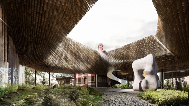 «Проект для будущего» / «Конкурсные работы – проекты для будущего» / Галерея искусств в Большой Виктории (Канада), бюро 5468796 Architecture + number TEN architectural group. Изображение предоставлено WAF
