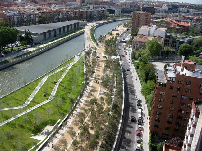 Парк RIO в Мадриде