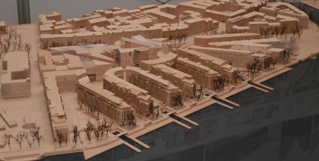 «Студия 44». Конкурсный проект жилого квартала на Малой Неве. 2009