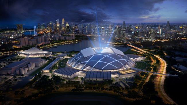 «Спорт»  / Спортивный центр Сингапура, бюро Arup, DP Architects и AECOM. Изображение предоставлено WAF
