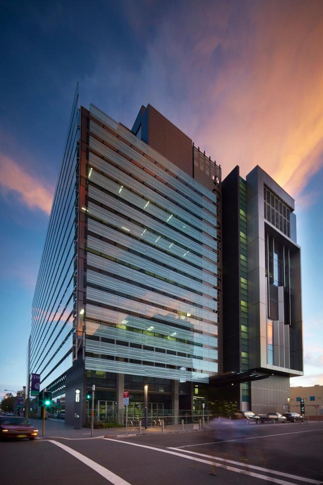 """«Здравоохранение» / Онкологический корпус Больницы принца Альфреда """"Chris O'Brien Lifehouse"""" в Сиднее (Австралия), бюро HDR Rice Daubney. Изображение предоставлено WAF"""