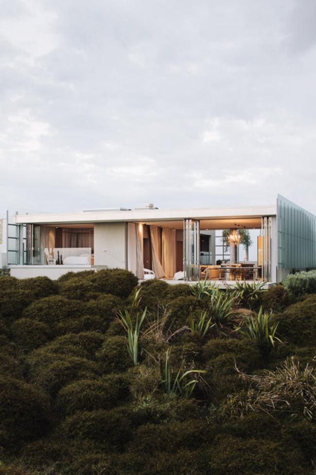 «Вилла» / «Дом в дюнах» (Новая Зеландия), бюро Fearon Hay Architects. Изображение предоставлено WAF