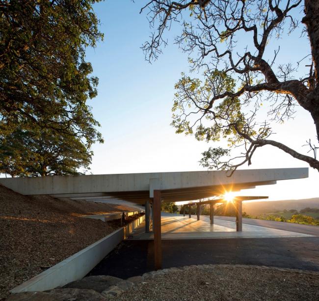 «Производство, энергия и вторичное использование» / Ферма Lune de Sang Sheds (Австралия), бюро CHROFI. Изображение предоставлено WAF