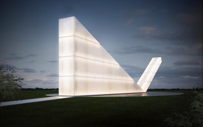 «Культура – будущие проекты» / Памятник свободе прессы (Бразилия),  бюро Gustavo Penna Arquiteto . Изображение предоставлено WAF