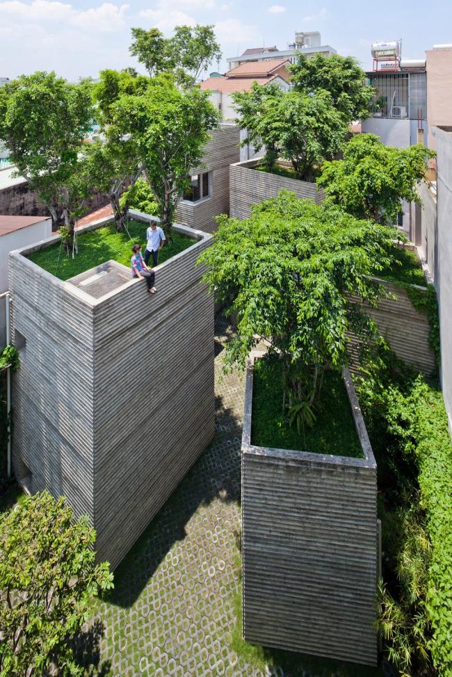 «Дом» / Особняк House for Trees в Хошимине (Вьетнам), бюро Vo Trong Nghia Architects. Изображение предоставлено WAF