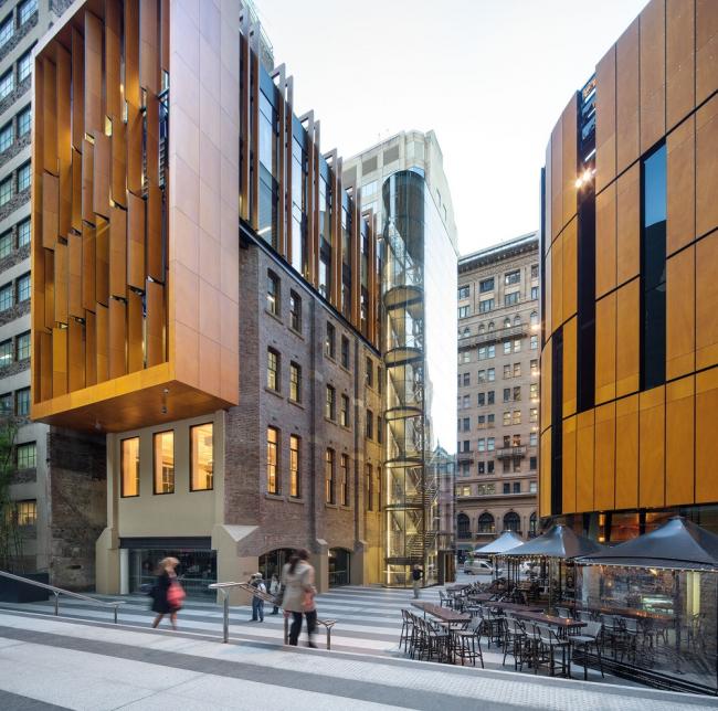 «Офис» / Комплекс Liberty Place в Сиднее (Австралия), бюро Francis-Jones Morehen Thorp (fjmt). Изображение предоставлено WAF