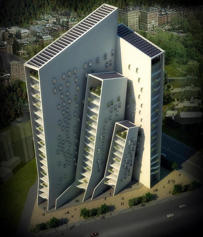 «Офисы – будущие проекты» / Комплекс Agashiyan в Ахмадабаде (Индия), бюро Sanjay Puri Architects. Изображение предоставлено WAF