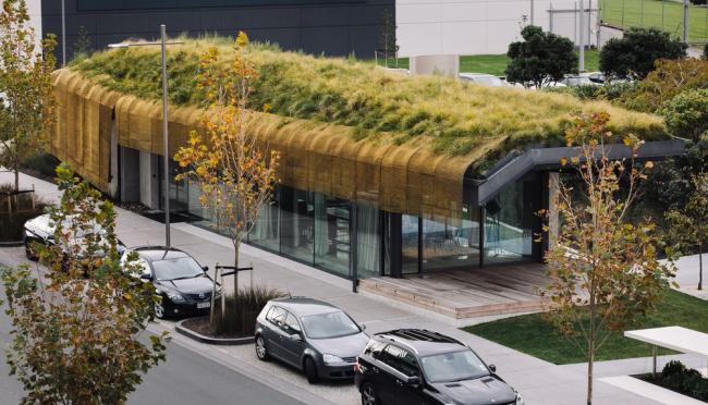 «Выставка» / Павильон Te Kaitaka («Плащ») в Окленде (Новая Зеландия), бюро Fearon Hay Architects. Изображение предоставлено WAF